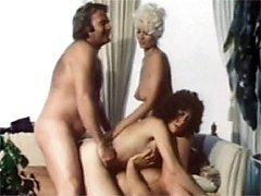 Vintage hot retro foursome
