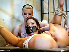 Serena Blair returns to Whipped Ass in a fantasy roleplay about the lesbian torments within the...