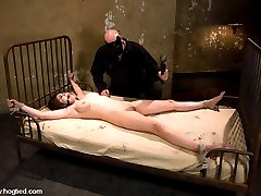 Amy stars in her first bondage shoot as a young woman talking to her Doctor about her growing...