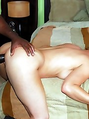 Kelly Leigh goes for an interracial fuck party and got her hairy pussy injected with a big black...