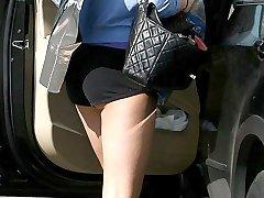 Amanda Bynes in tight shorts