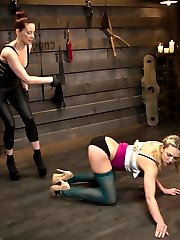 Welcome newcomer Bailey Blue to Whipped Ass. Bailey is new to punishment and submission but...