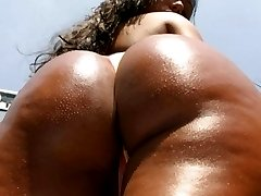 Nivea is soo hottt chk her out as we fuck under the beach shower hot sex action and her ass is...