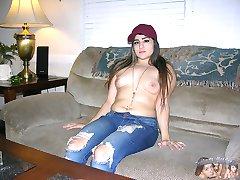 Amateur Homemade Nude Modeling Shoot - Kaila Model