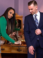 Forget skeletons in this closet-- during an inspection, horny insurance rep Will Havoc finds...