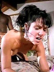 Jeanna Fine, K.C. Williams, Sean Michaels in rare vintage porn material with passionate sex