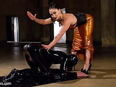 The dark, sadistic dungeon side of Divine Bitches is BACK with master fetishist LEA LEXIS!...