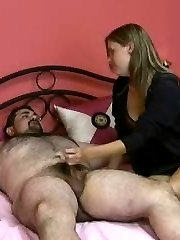 Cfnm dirty handjob