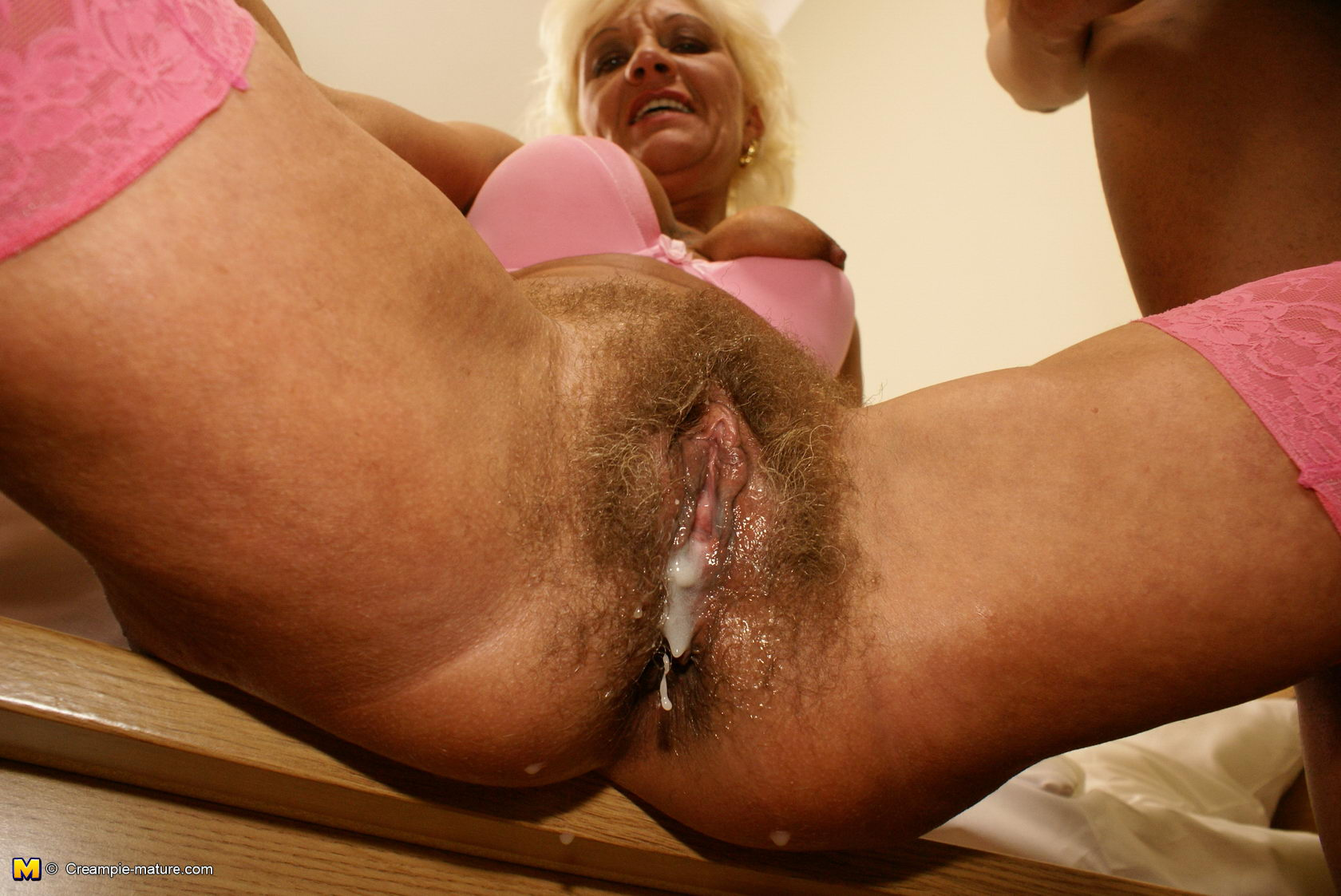 Beautiful Hairy Pussy Creampie
