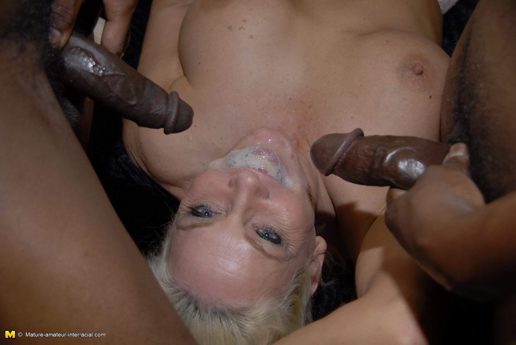 Thick Blonde Mature Bbc