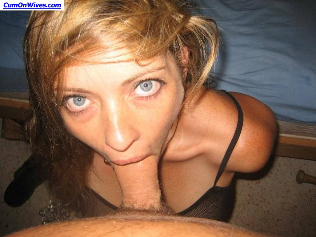 Think, that amateur wives blowjob