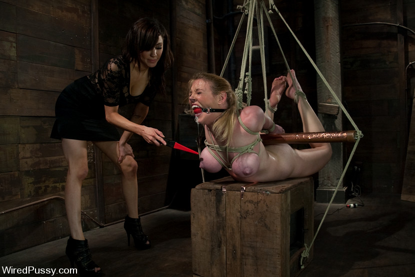 Apologise, wired pussy bondage can