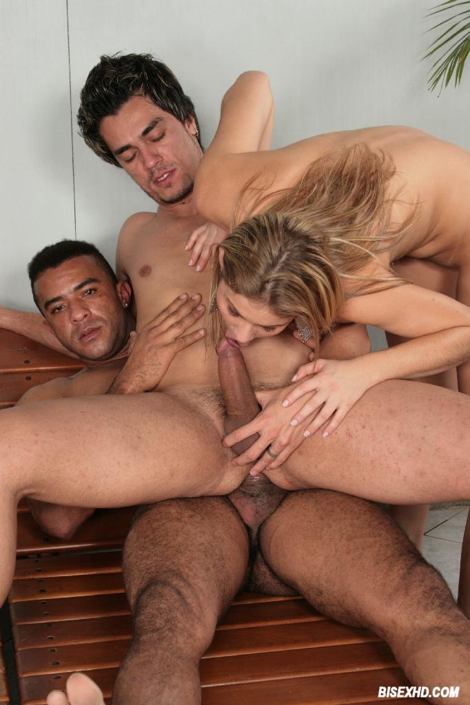 Threesome Two Girls One Guy