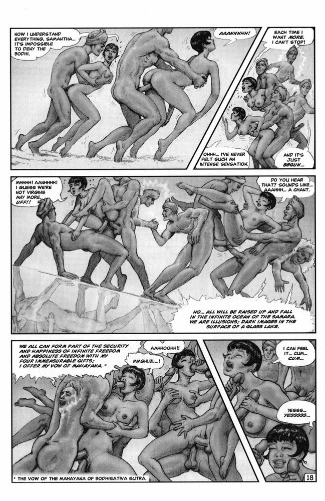 black porn comics