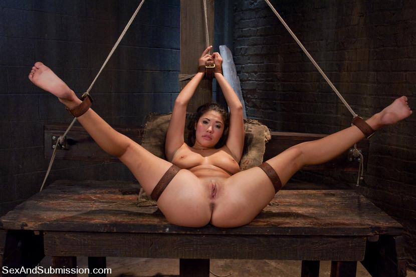 Asian Multiple Orgasm Bondage