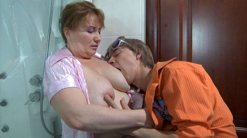 Hairy Mature Mom Fucks Son