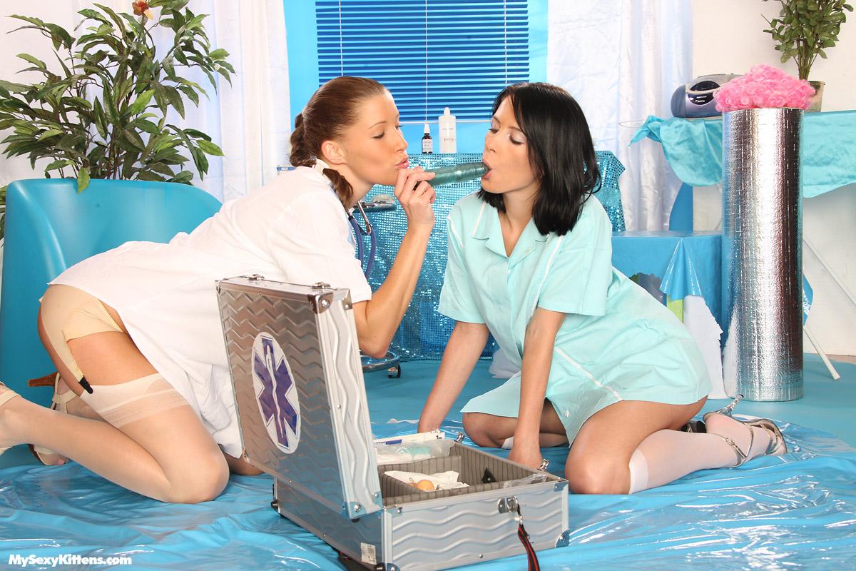 Teen Lesbians Dressing Room