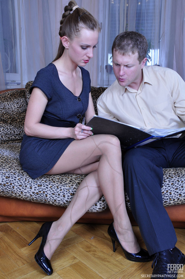 Well understand Creamed pantyhose sex