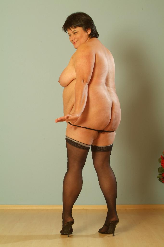 Sexy fat mature