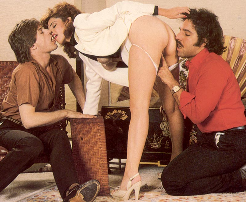 Vintage Ron Jeremy Threesome