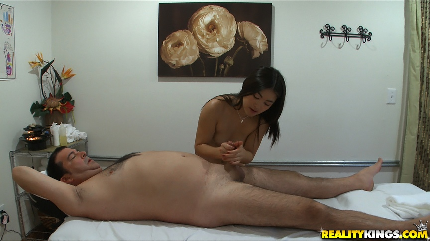 Asian Massage Parlor Handjob