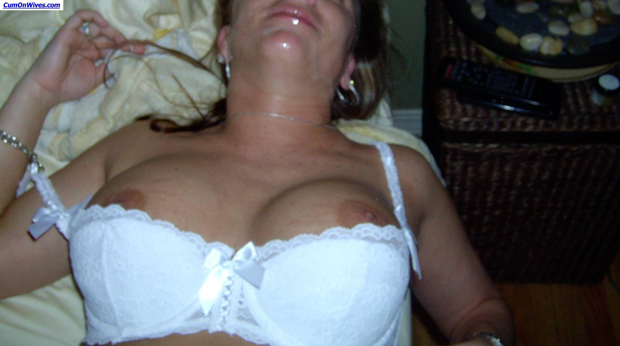Blonde Wife Cum Swallow