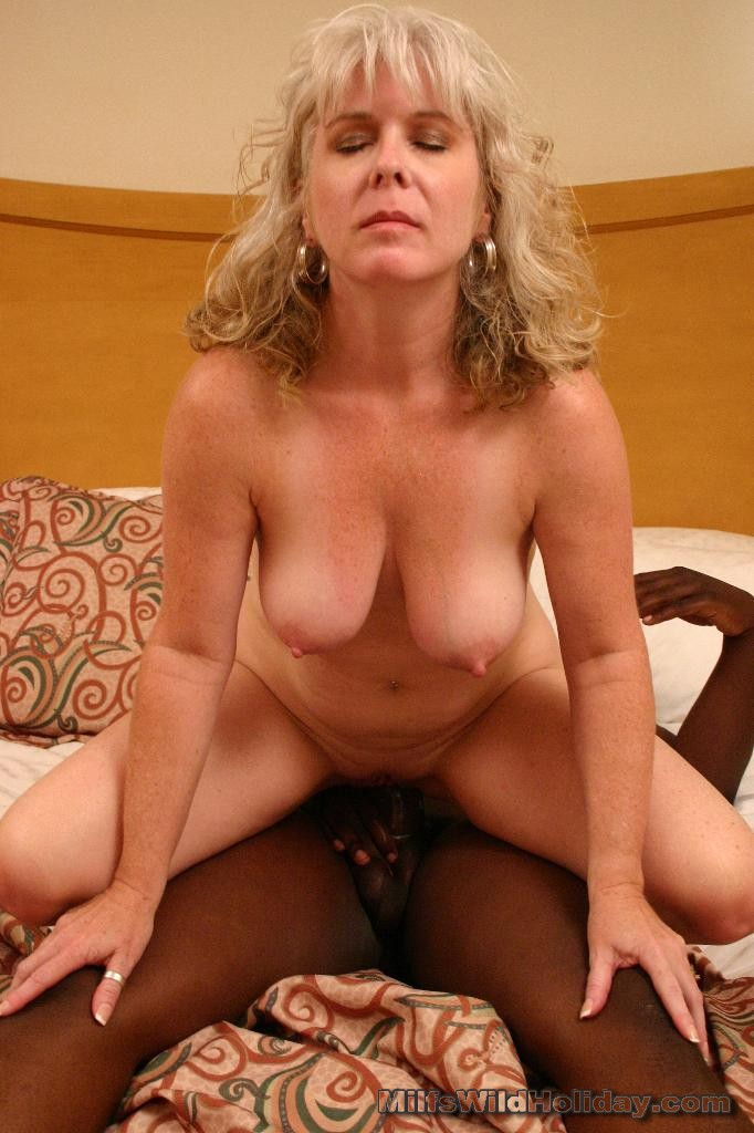 what blonde wife two black dicks and cum inside for lovely