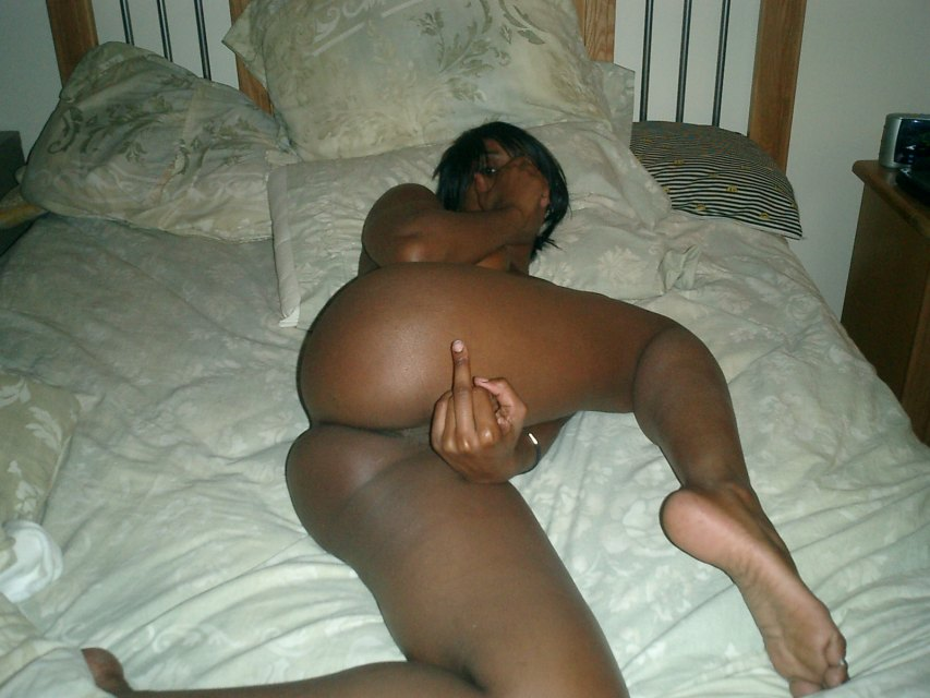 Amateur Ebony Anal Cream Pie