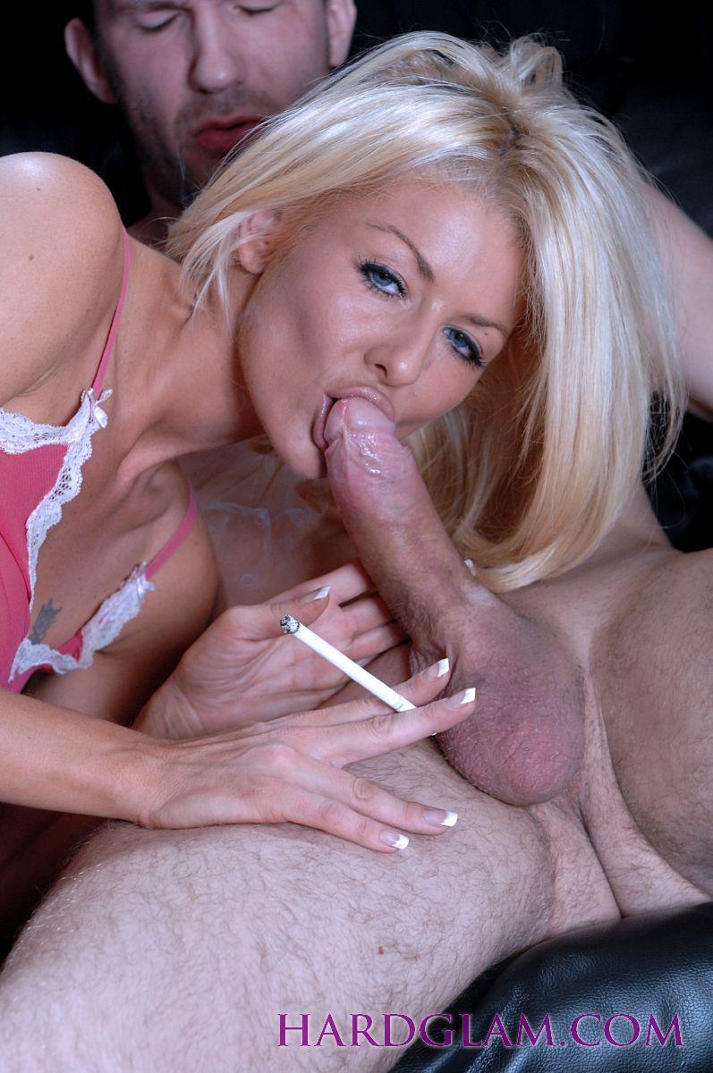 Two Ebony Suck White Cock