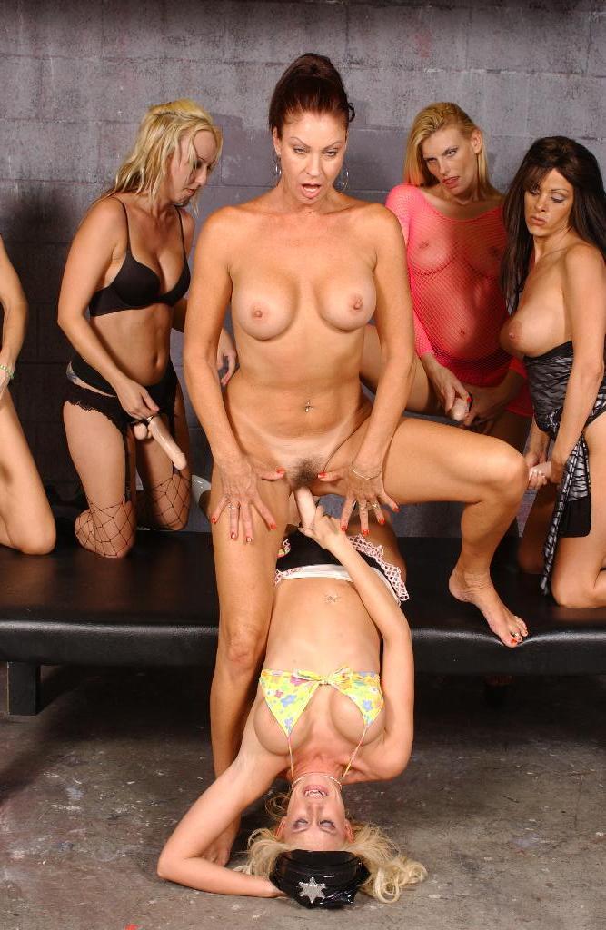 Milf Lesbian Dildo Orgy
