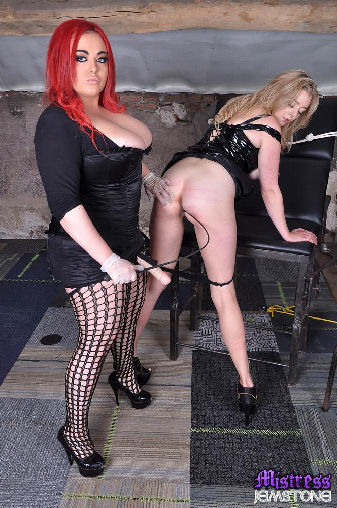 Mistress jemstone strapon apologise