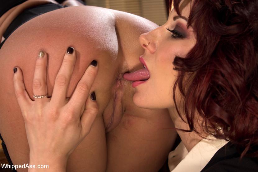 Lesbian Ass Licking Blonde