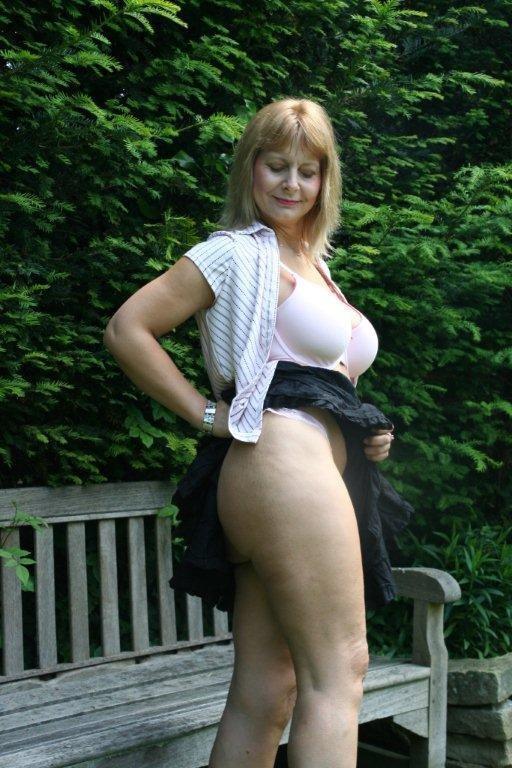 Busty Blonde Milf Handjob Pov
