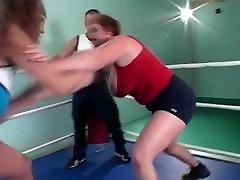 busty wrestling