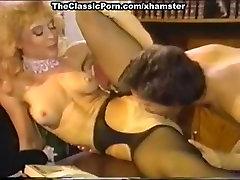 Dana Lynn, Nina Hartley, Ray Victory in vintage indonesia creamy wet pussy scene