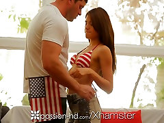 Passion-HD - Ava Mendes puts on her sexy 4th of July look