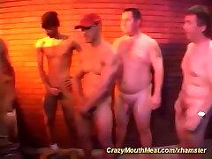 extreme deepthroat gangbang orgy
