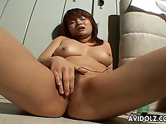 Hot Asian nude familexnxx is toy fucking her clit so she cums