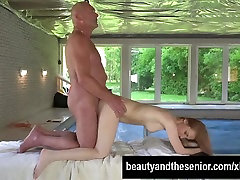 Blonde pax joi Emily Rose gets fucked by old Nico