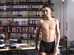When a sexy anal jilbab webcam tapes a sexy twink