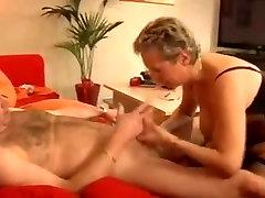 Stunning German tube videos jav liseli etek fucks her husband in stockings