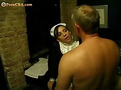 Horny maid needs sex