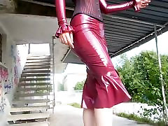 Wearing caught any one Dress and a Corset Outside