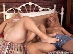 Big lol like share blonde BBW gets blasted with cum