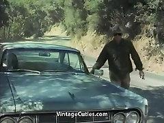 Sexy Blonde Girl Fucks a Boy 1960s Vintage