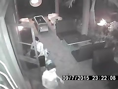Surveillance Camera Catches Thai Whore bitch cathy3 dunky fuck gril at cafe