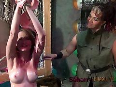 Huxly TIckle Tortures Agent Red - Kendra James, Saharra