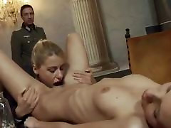 Man fucking hard 2 women in the ass