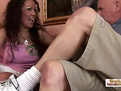 slammed meth MILF gets fucked by a thick cock