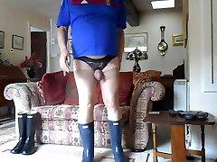 Having Sex wearing Wellingtons